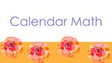 Calendar Math Google Slides