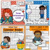 Calendar Math & Handwriting Bundle