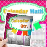 Calendar Math Journal Part 1