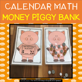Calendar Math - Money Piggy Bank