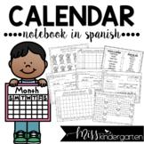 Calendar Math Notebook in Spanish
