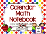 Calendar Math Notebook in English AND Spanish! *Updated fo