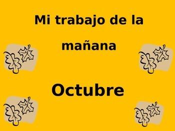 Calendar Math-October