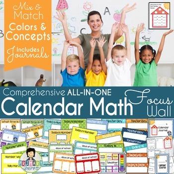 Calendar Math Pack * Math Focus Wall
