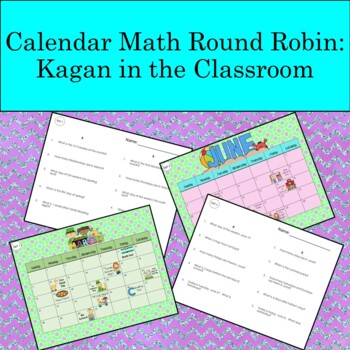 Calendar Math Problems--Cooperative Learning