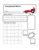 Calendar Math- Race Car