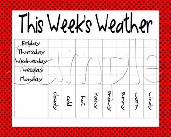Calendar Math - Red with Black Polka Dots