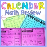 Calendar Math Review- Year Long Number Sense Morning Work