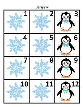 Calendar Math Set
