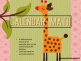 Calendar Math Stations