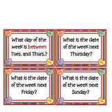 """Calendar Math """"Sweet On Math Calender Cards"""""""