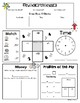 No Prep Double-Sided CALENDAR MATH Printable (Common Core Aligned)