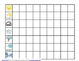Calendar Math Weather Graph
