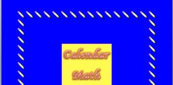 Calendar Math Week 1