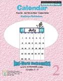 Teaching Calendar Skills | 3rd, 4th, 5th Grade Common Core Math Practice