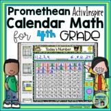Calendar Math for 4th Grade Promethean Flipchart