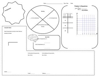 Calendar Math for 6th Grade (Editable Version)