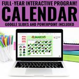 Digital Calendar Math | Google™ AND PowerPoint | Distance