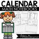 Calendar Math Notebook | Kindergarten and First Grade (Spa