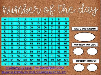 Calendar Math for First and Second Graders