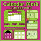 Calendar Math for SmartBoard (daily review of 16 common co