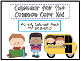 Calendar Math for the Common Core Kid