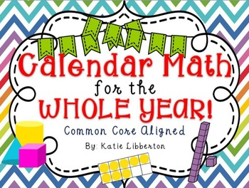 Calendar Math for the Whole Year 2016-2017