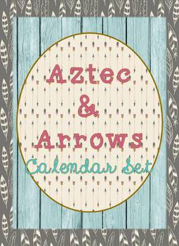 Calendar Math in Aztec and Arrows Theme