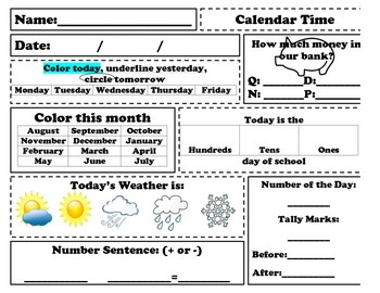 Calendar Meeting Paper