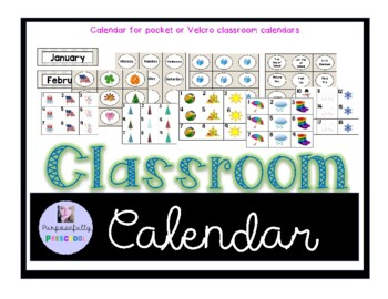 Chalkboard Calendar Mega Pack