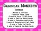 Calendar - Monkeys