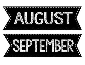Calendar Month Labels