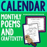 Calendar Monthly Poems