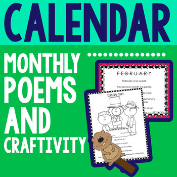 Calendar Monthly Poems
