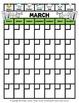 Calendar - Monthly Weather Calendar - Sunday to Saturday -