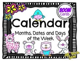 Calendar-Months, Dates & Days of the Week Boom Cards
