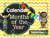Calendar: Months of the Year