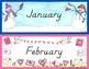 Calendar Months of the Year {D'Nealian}