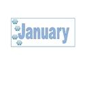Calendar- Months of the year