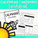 Calendar [Morning] Journal-FIRST GRADE