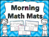 Calendar Morning Math Mats - Set 1