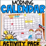 Calendar Distance Learning Take Home Packet (Morning Meeting)