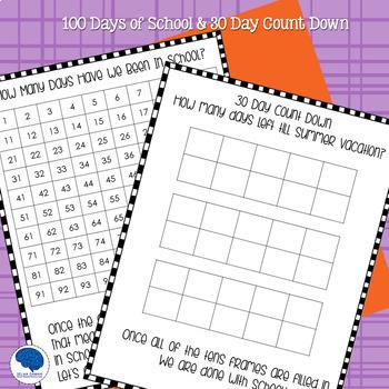 Calendar Morning Work for K-2 (Differentiated)