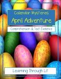 Calendar Mysteries APRIL ADVENTURE * Comprehension & Text