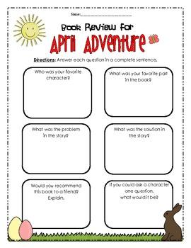 Calendar Mysteries April Adventure
