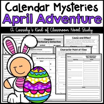 Calendar Mysteries April Adventure Novel Study