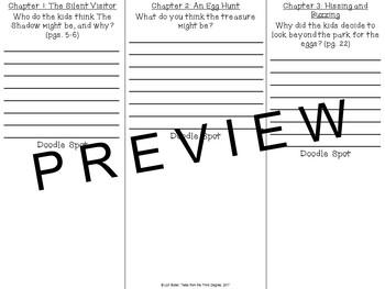 Calendar Mysteries, April Adventure Read Aloud Write Along