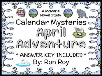 Calendar Mysteries: April Adventure (Ron Roy) Novel Study / Comprehension