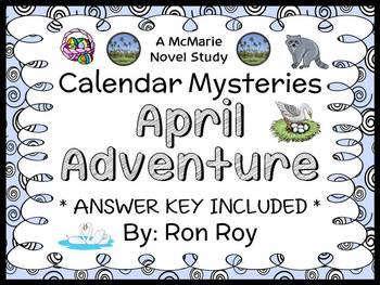 Calendar Mysteries: April Adventure (Ron Roy) Novel Study