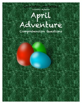 Calendar Mysteries April Adventure comprehension questions